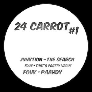 "Junktion & Fouk/24 CARROT #1 12"""