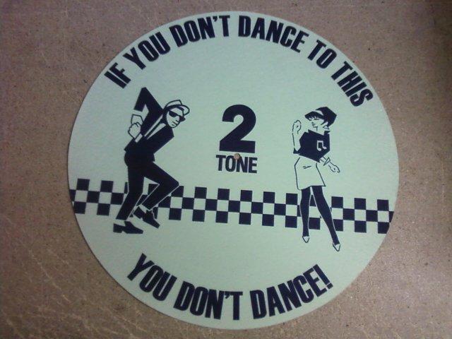 2 Tone Ska Dancers/SLIPMAT