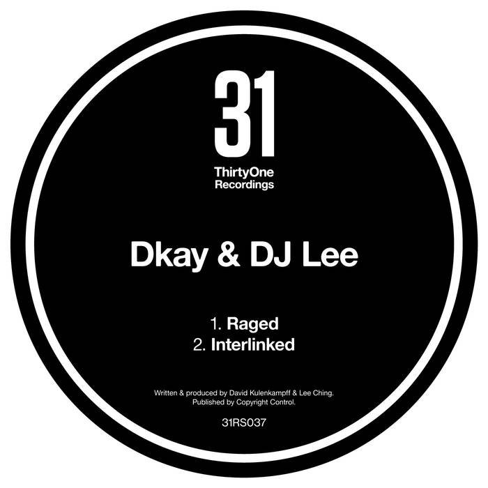 Dkay & DJ Lee/RAGED 12""