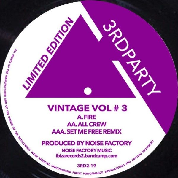 Noise Factory/VINTAGE VOL #3 12""