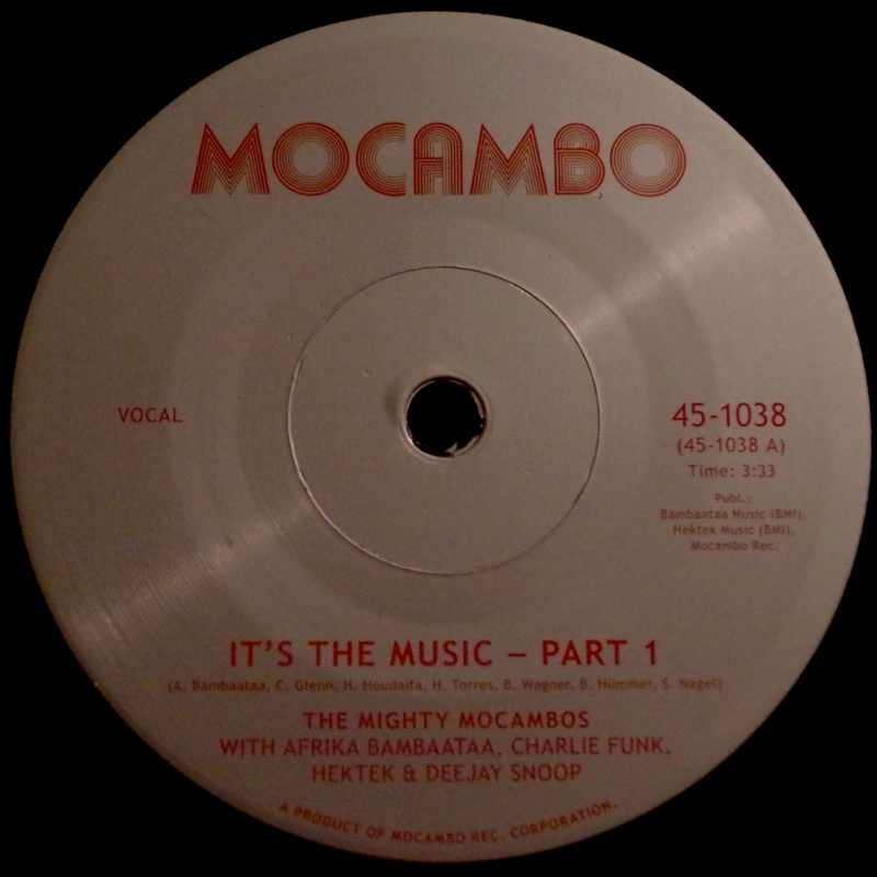 Mighty Mocambos & A. Bambaataa/IT'S 7""