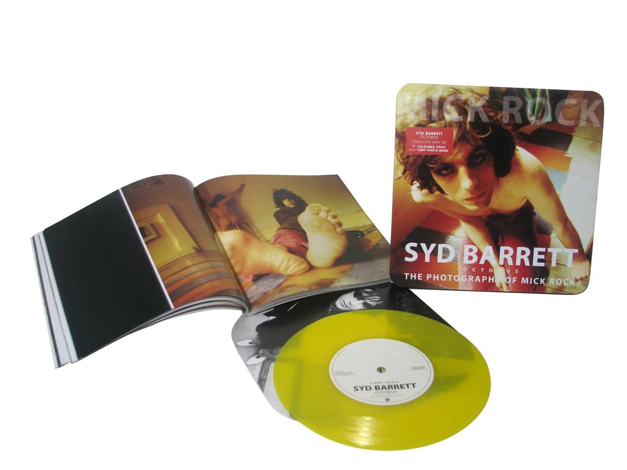 """Syd Barrett/OCTOPUS 7""""+ BOOK"""