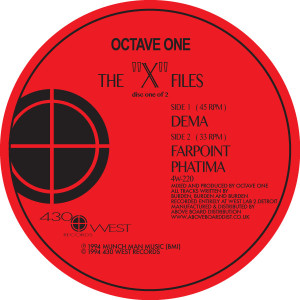 "Octave One/THE ""X"" FILES DLP"