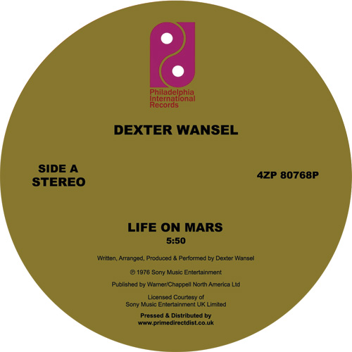 Dexter Wansel/LIFE ON MARS 12""