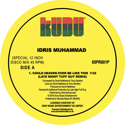 Idris Muhammad/COULD... (LNTG RMX) 12""