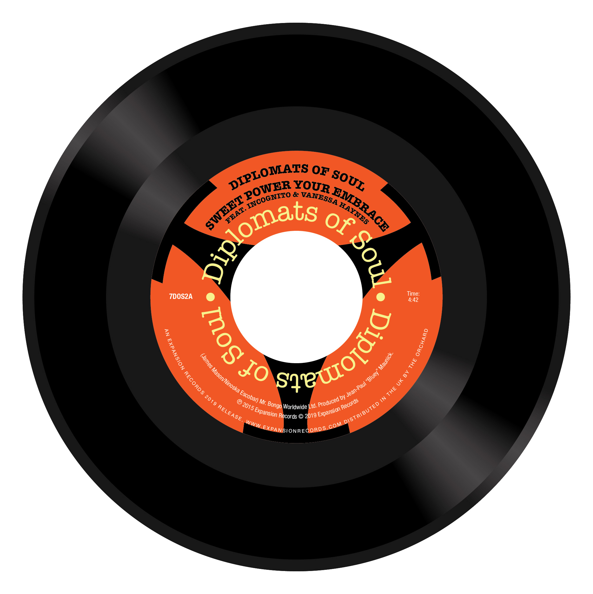 Diplomats of Soul/SWEET POWER 7""