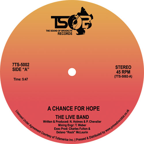Live Band/A CHANCE FOR HOPE 7""