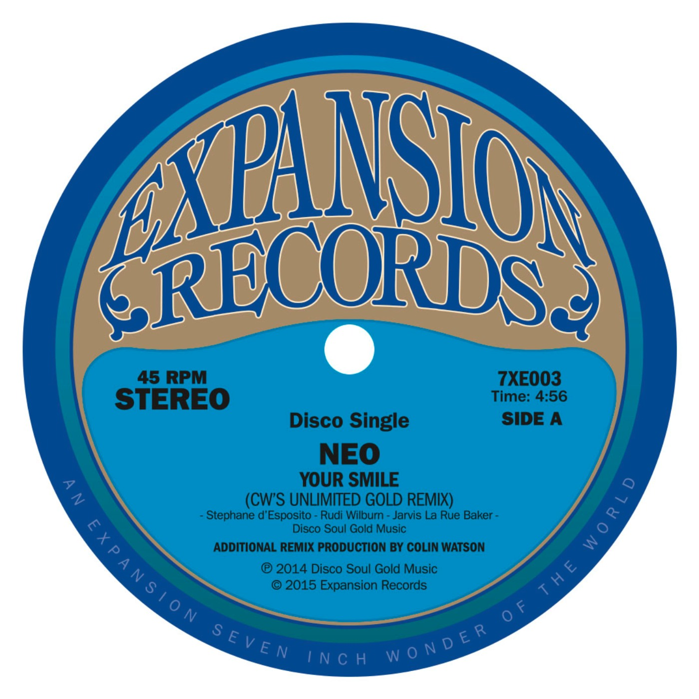 "Neo/YOUR SMILE (DRIZABONE REMIX) 7"""