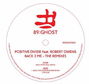 Positive Divide/BACK 2 ME 12""