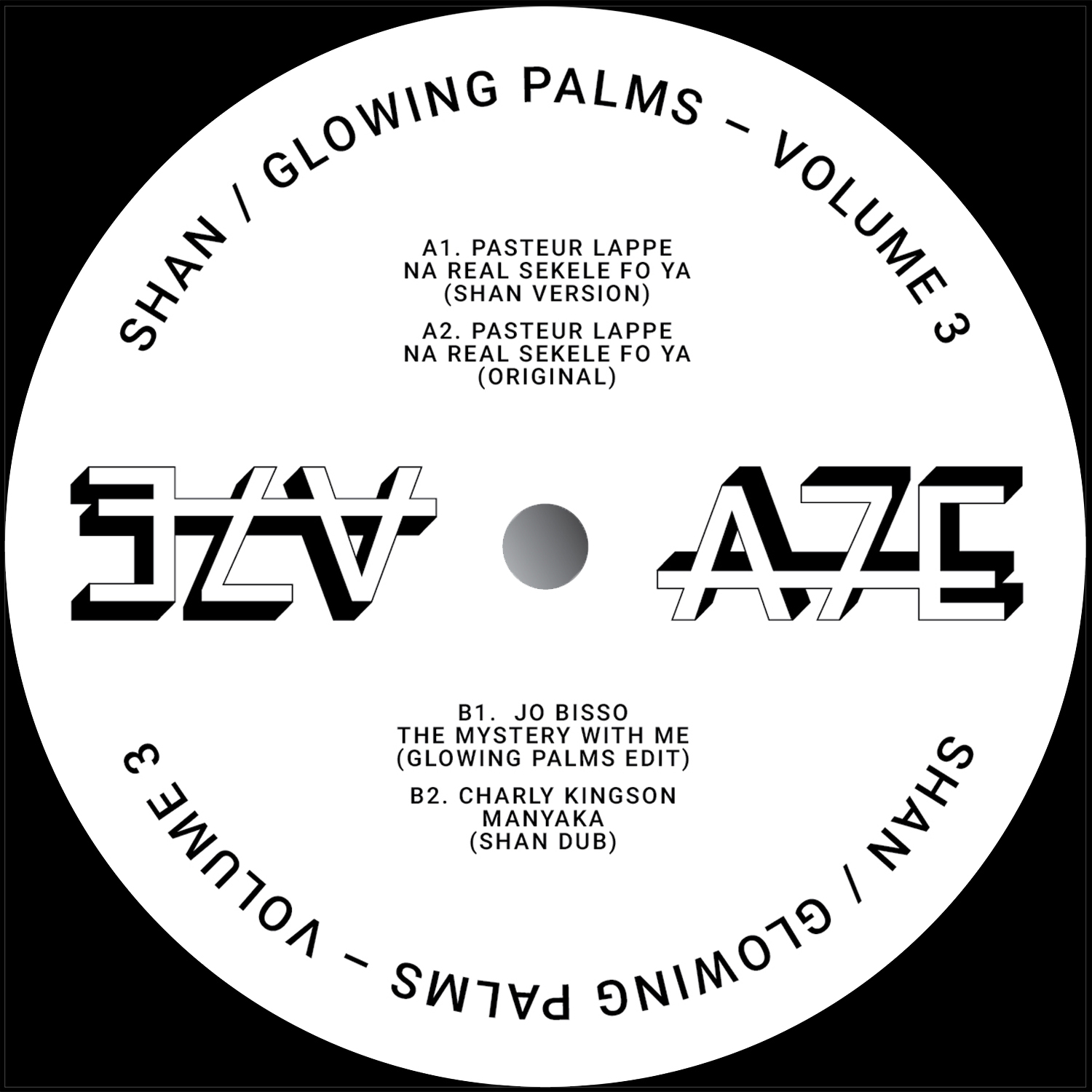 Shan & Glowing Palms/A7 EDITS VOL 3 12""