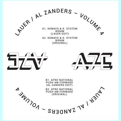 """Lauer & Al Zanders/A7 EDITS VOL 4 12"""""""