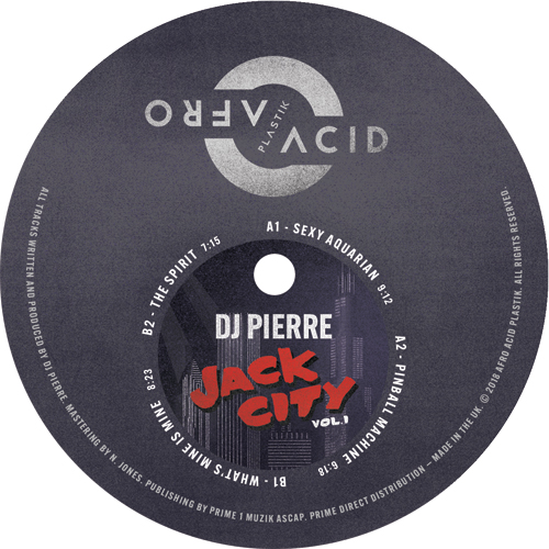 DJ Pierre/JACK CITY VOL 1 12""