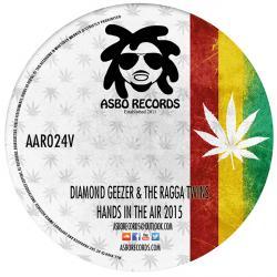 "Diamond Geezer & Ragga Twins/HANDS.. 12"""