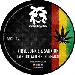 Vinyl Junkie & Sanxion/TALK TOO MUCH 12""