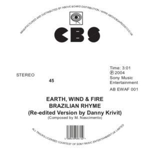"EWF/BRAZILIAN RHYME (DANNY KRIVIT) 12"""