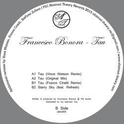 "Francesco Bonora/TAU-VINCE WATSON RX 12"""