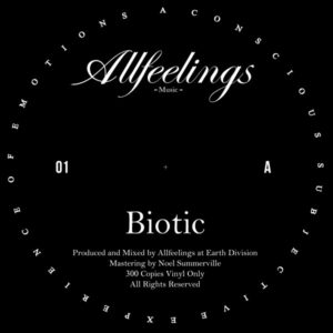 Allfeelings/BIOTIC 12""