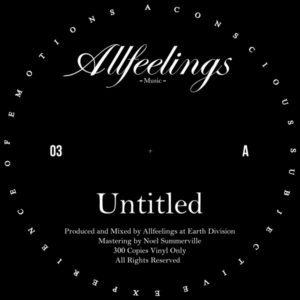 Allfeelings/UNTITLED 12""