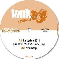 """Rory Hoy/NON STOP FUNK EP  12"""""""