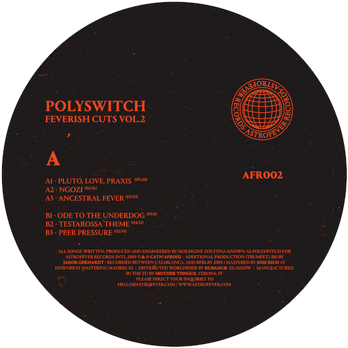 "Polyswitch/FEVERISH CUTS VOL. 2 12"""