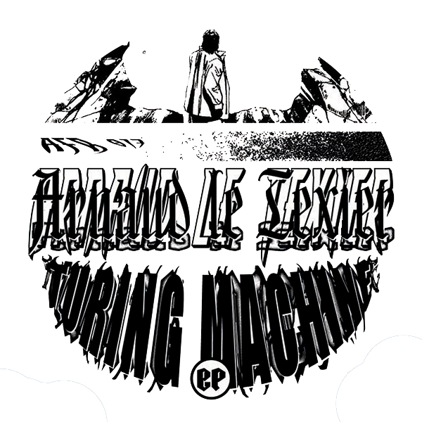 "Arnaud Le Texier/TURING MACHINE EP 12"""
