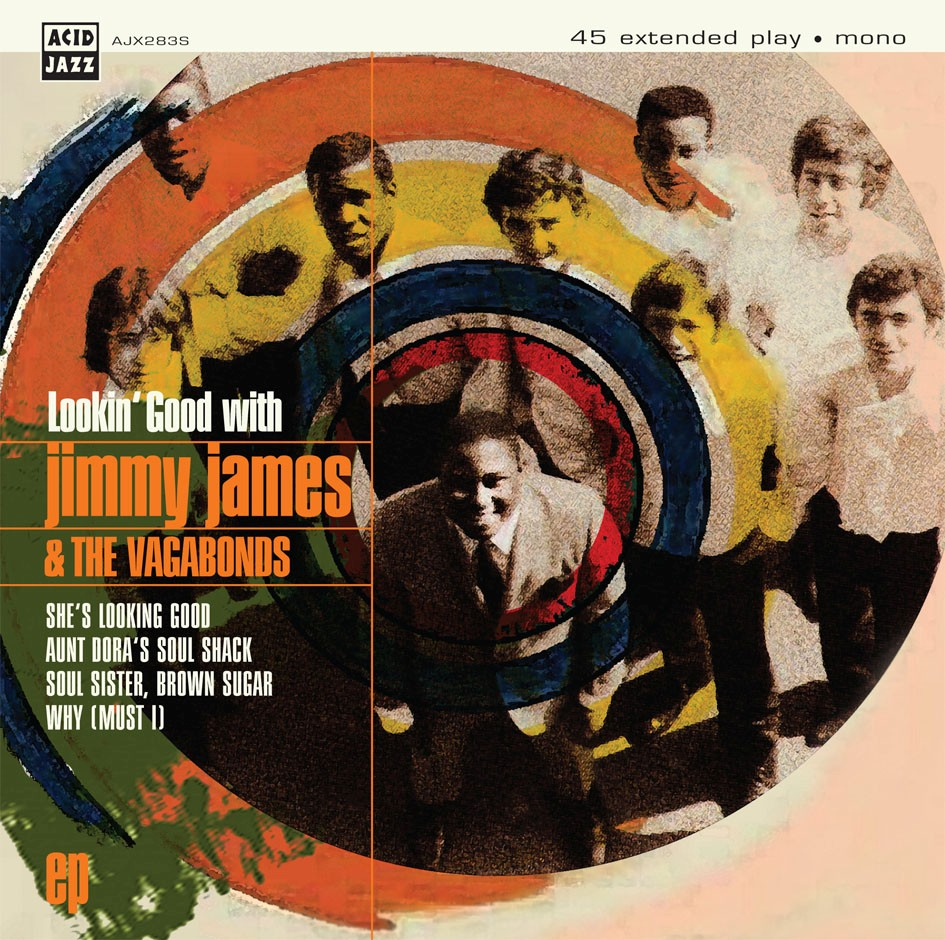 Jimmy James & The Vagabonds/LOOKIN' 7""