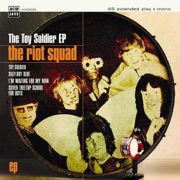 Riot Squad (Bowie)/TOY SOLDIER EP 7""