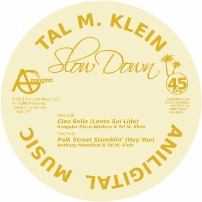 Tal M. Klein/SLOW DOWN EP 12""