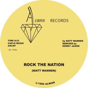 """Matt Warren/ROCK THE NATION 12"""""""