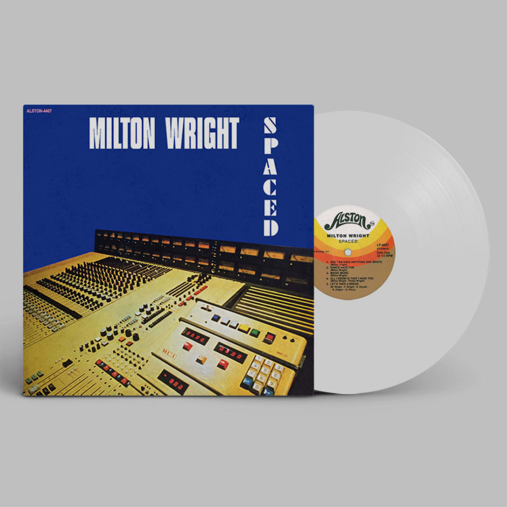 Milton Wright/SPACED (WHITE) LP