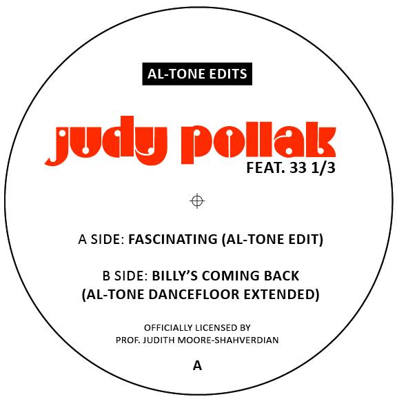 """Judy Pollak/FASCINATING AL-TONE EDITS 7"""""""