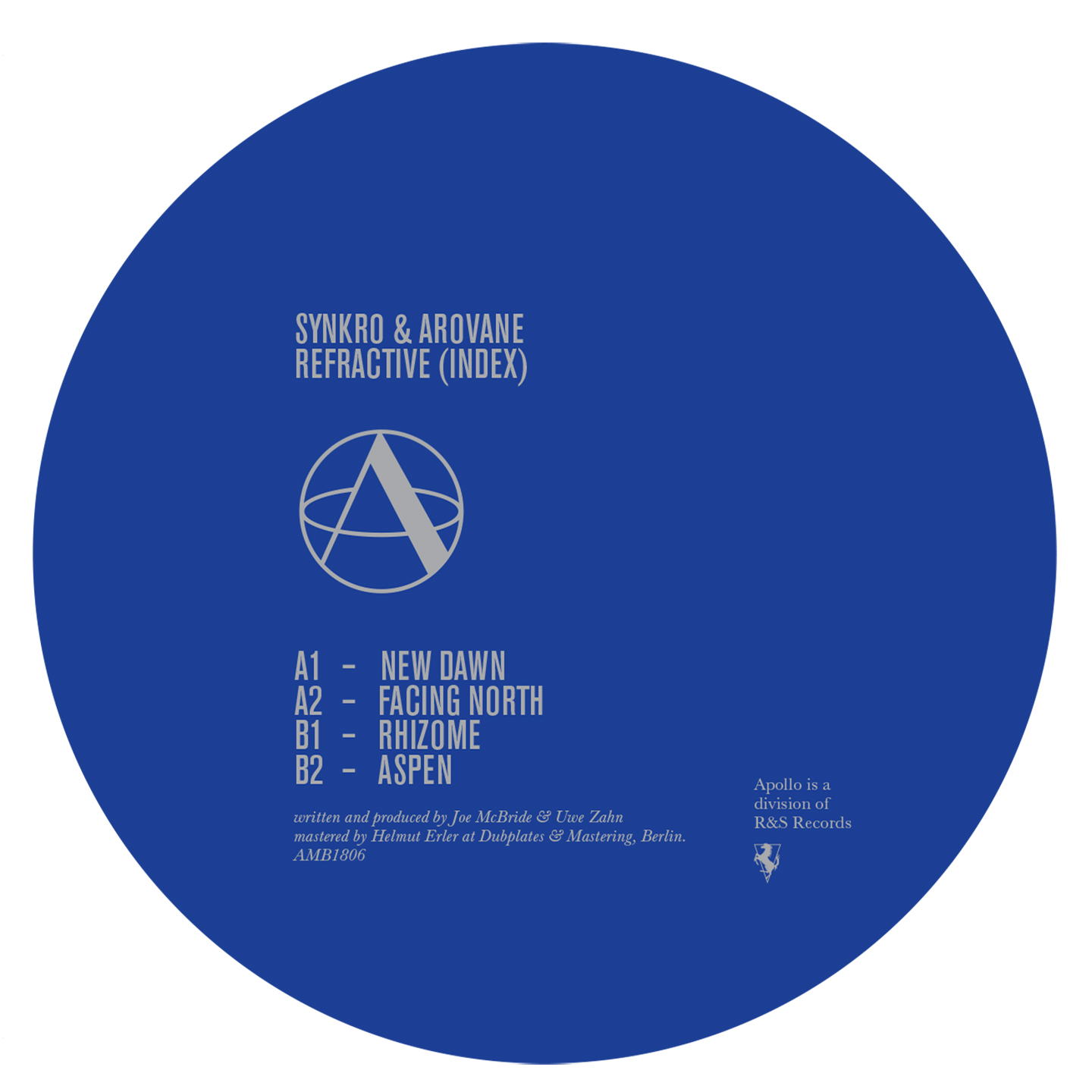 Synkro & Arovane/REFRACTIVE (INDEX) 12""