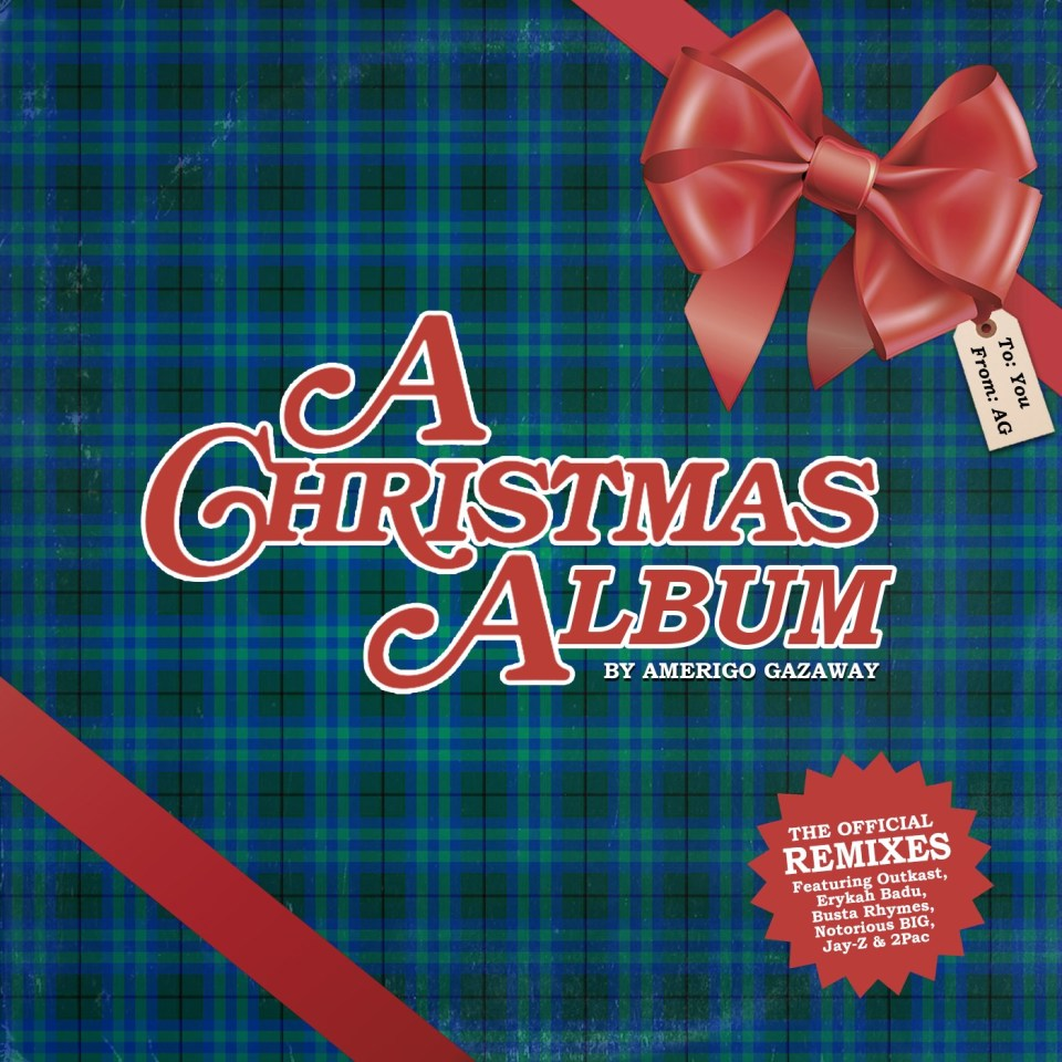 Amerigo Gazaway/A CHRISTMAS ALBUM(RED)LP