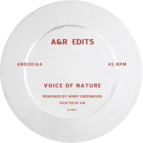 "A&R Edits/VOLUME 1-HENRY GREENWOOD 12"""