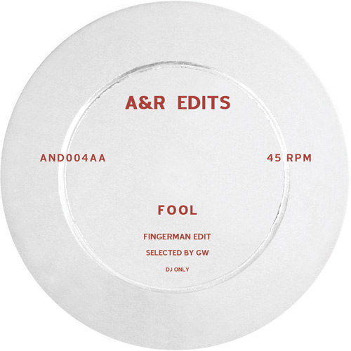 A&R Edits/VOLUME 4-FINGERMAN 12""