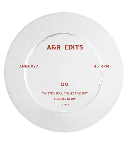 A&R Edits/VOLUME 7-TWISTED SOUL... 12""