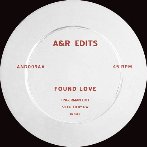 A&R Edits/VOLUME 9-FINGERMAN 12""