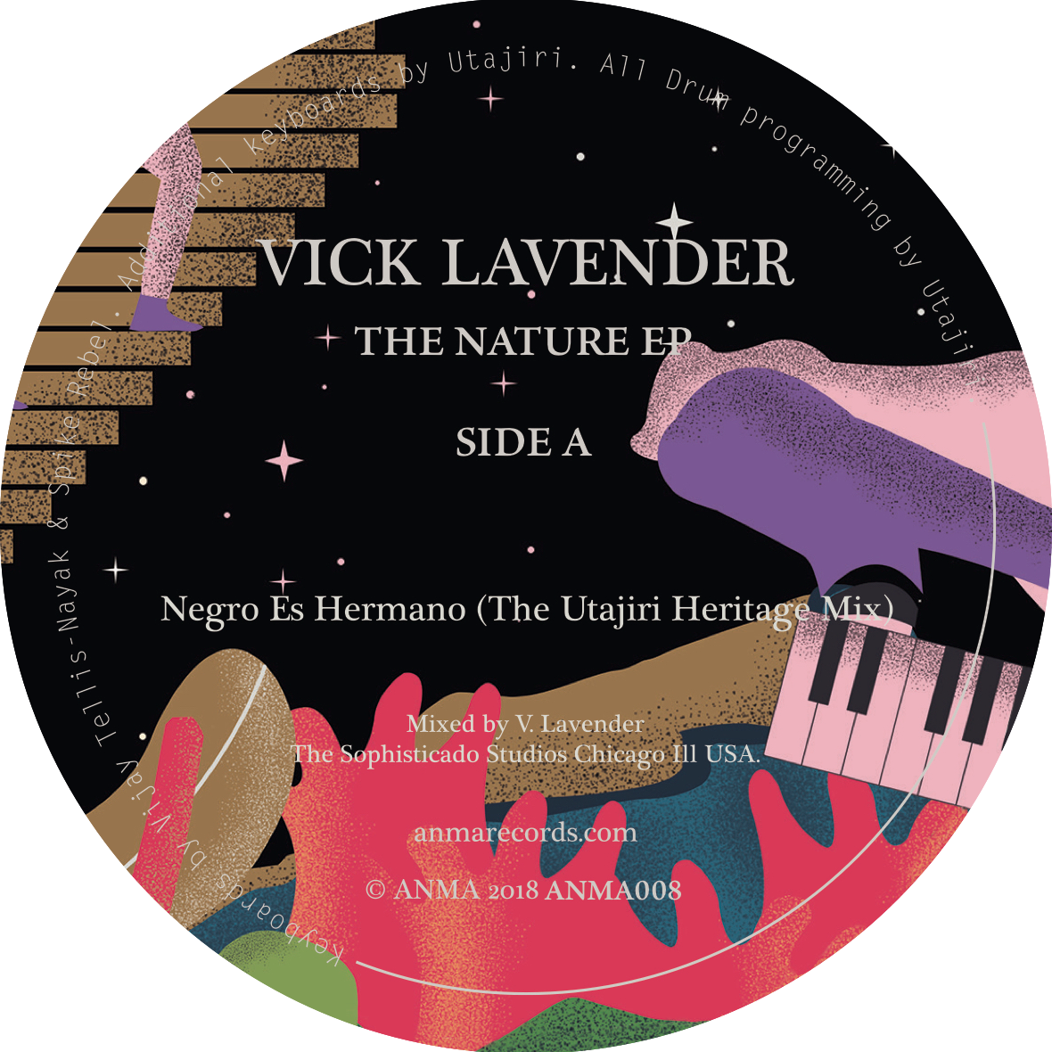 Vick Lavender/THE NATURE EP 12""