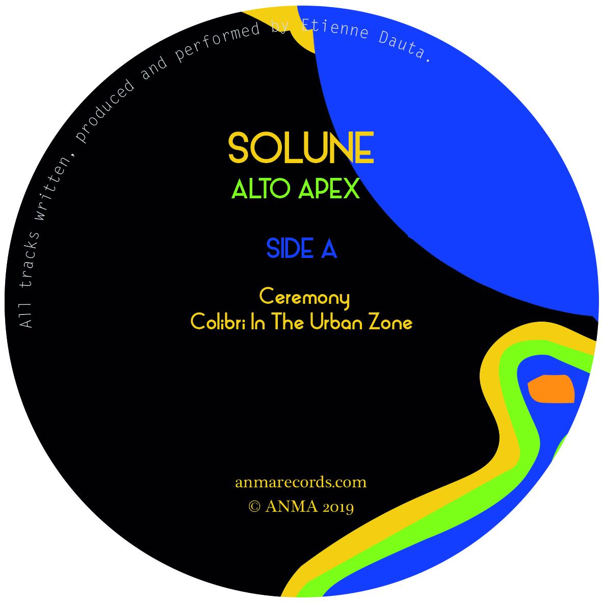 """Solune/ALTO APEX EP 12"""""""