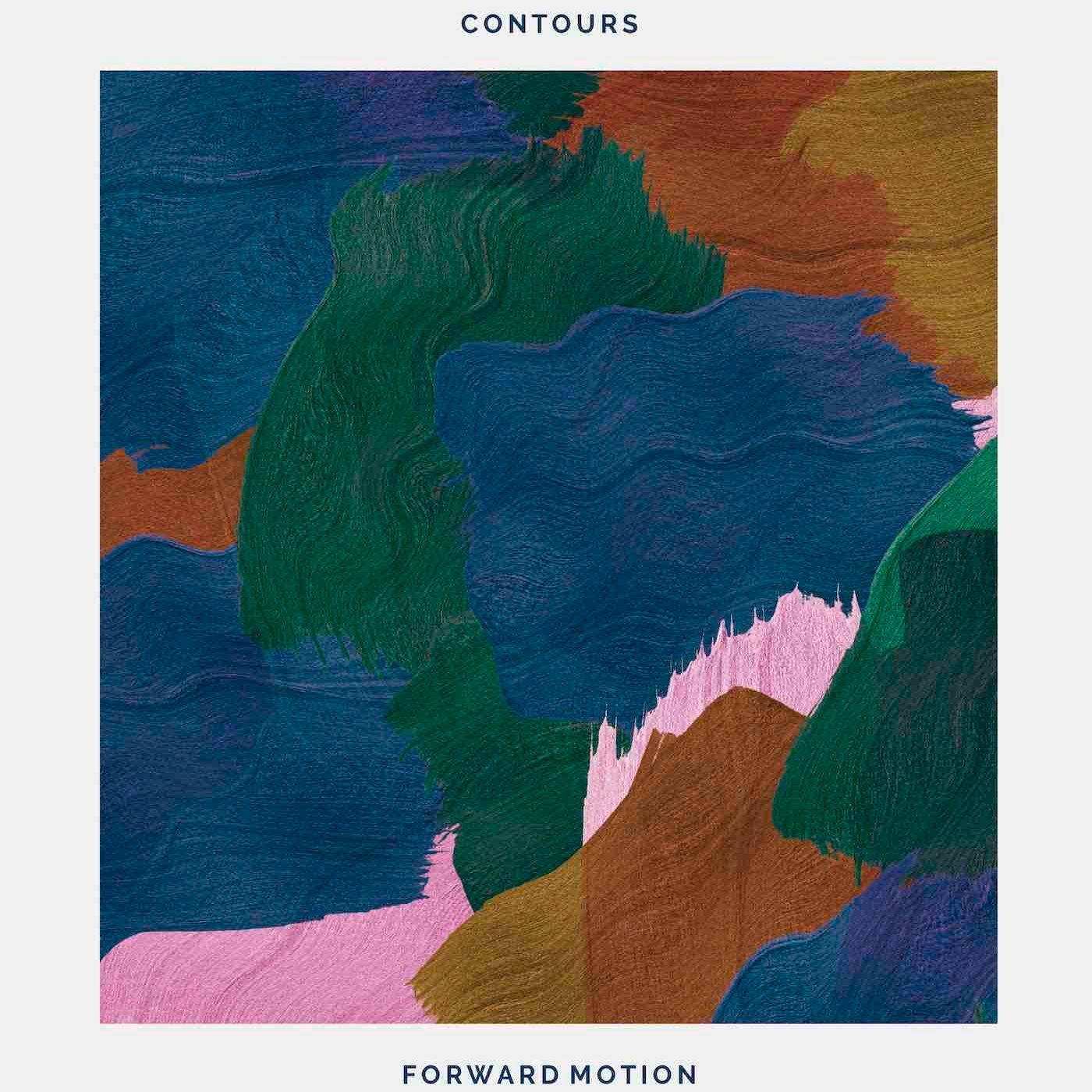 """Contours/FORWARD MOTION (K15 REMIX) 12"""""""