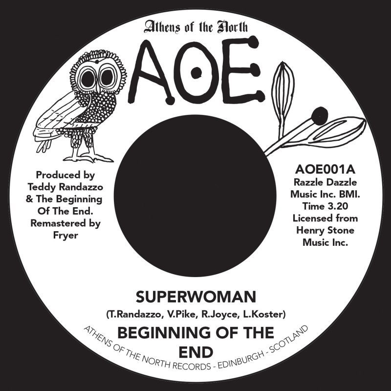 Beginning Of The End/SUPERWOMAN 7""