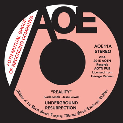 Underground Resurrection/REALITY 7""