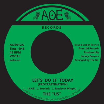 Us/LET'S DO IT TODAY 7""