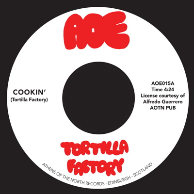 "Tortilla Factory/COOKIN' 7"""