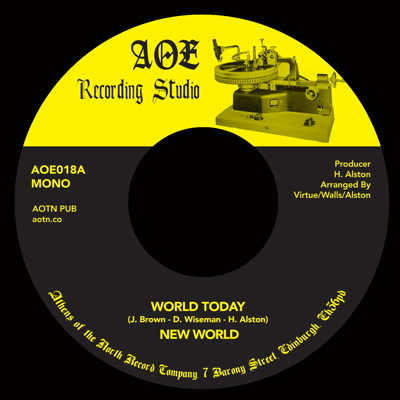 New World/WORLD TODAY 7""