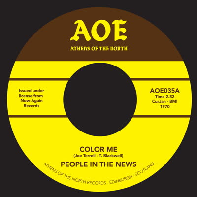 People In The News/COLOR ME 7""