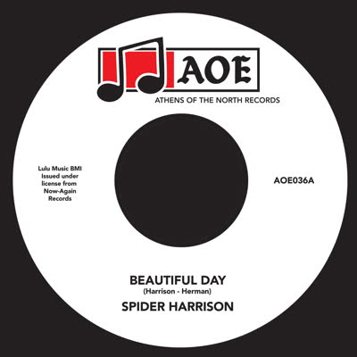 Spider Harrison/BEAUTIFUL DAY 7""