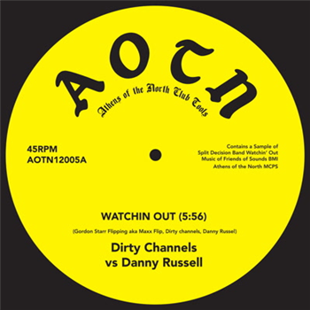 Dirty Channels vs D.R./WATCHIN OUT 12""