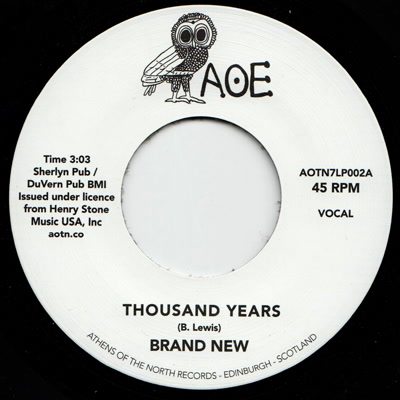 Brand New/THOUSAND YEARS 7""