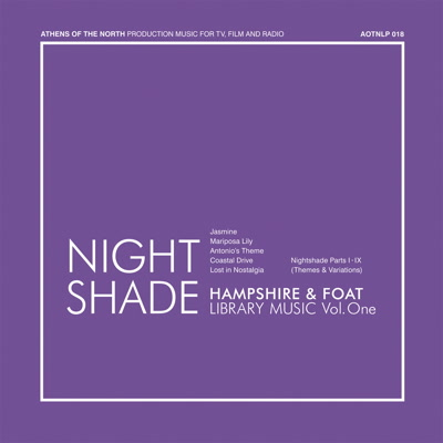 Hampshire & Foat/NIGHT SHADE CD